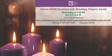 Advent ZOOM Devotions tickets