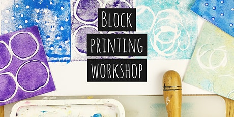 Block Printing Fun Day tickets