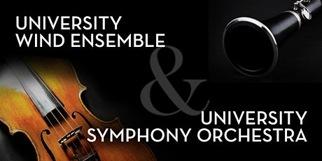 University Wind Ensemble and University Symphony Orchestra Virtual Concert tickets