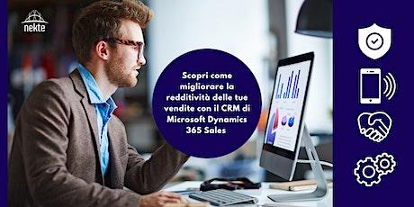 Migliora la redditività delle vendite con il CRM Microsoft Dynamics 365 biglietti