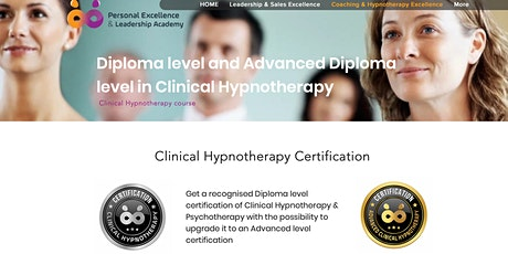 Diploma of Clinical Hypnotherapy and Psychotherapy tickets