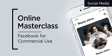 Online Masterclass | Social Media for Commercial Use tickets
