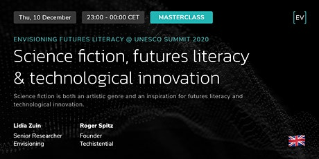Masterclass | Science fiction, futures literacy & technological innovation ingressos