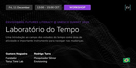 Workshop | Laboratório do Tempo ingressos