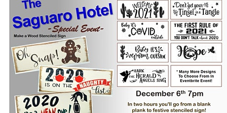 The Saguaro Hotel - Stencil Sign Event tickets