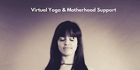 November Virutal Yoga & Motherhood Support tickets