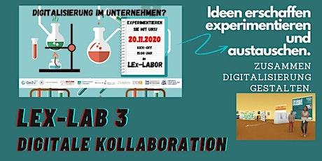 3. LEx-Labor -> Digitale Kollaboration 2 Tickets