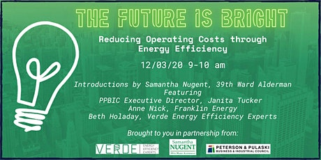 The Future Is Bright - Reducing Operating Costs through Energy Efficiency tickets