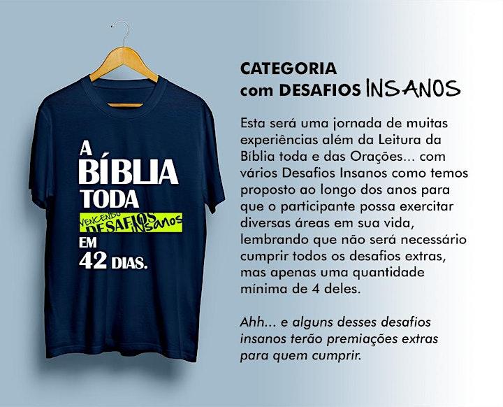 Imagem do evento Te Desafiamos a Mais que Leitura da BÍBLIA TODA no #desafio42dias