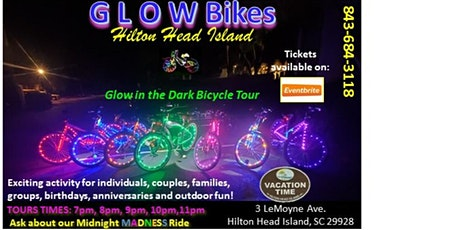 Glow Bikes Hilton Head-Vacation Time! tickets