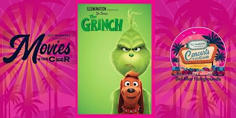 THE GRINCH 2018 - SUBARU Presents Movies In Your Car DEL MAR - $29 PER CAR tickets