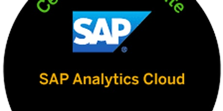 SAP Analytics Cloud Certification tickets
