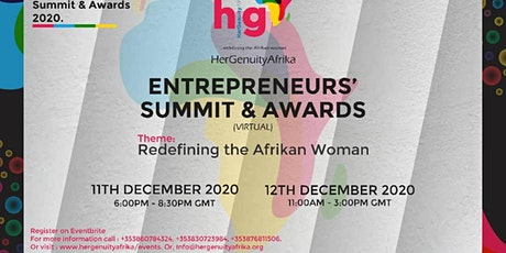 HerGenuityAfrika! (HGA)Entrepreneurs' Summit & Awards tickets