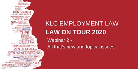 Virtual  Law on Tour - Webinar 2 tickets