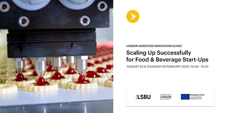 Scaling Up Successfully for Food & Beverage Start-ups tickets