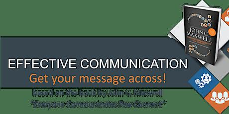 Online Effective Communication Class tickets