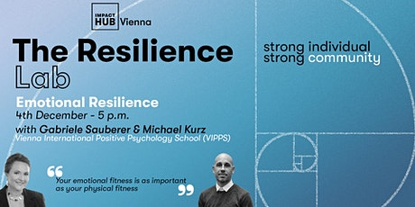 Resilience Lab: Build up your Emotional Resilience tickets