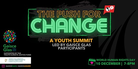 Gaisce Glas: The Push for Change tickets