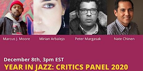 Year in Jazz Critics Panel 2020 tickets