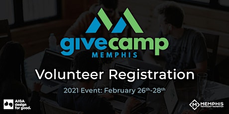 GiveCamp Memphis / Design for Good 2021 tickets