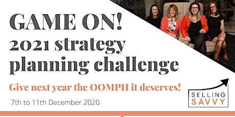 GAME ON! 2021 strategy planning challenge for eventprofs tickets