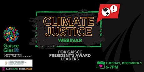 PAL Climate Justice Webinar tickets