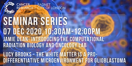 CRUK RadNet City of London Seminar Series tickets