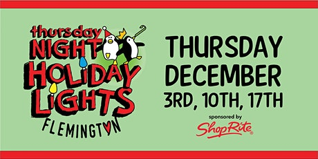 Thursday Night Holiday Lights at Turntable Junction tickets