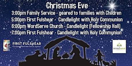 CHRISTMAS EVE - First Fulshear AND WordServe Church tickets