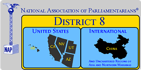 NAP District 8 Regular Member Meeting tickets