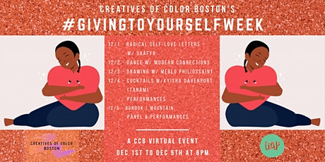 #GivingToYourselfWeek 2020 tickets