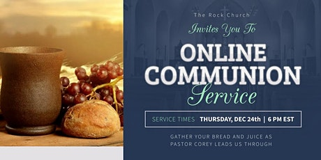 Online Communion Service tickets