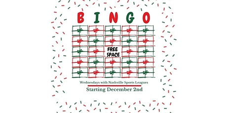 Holiday Bingo tickets