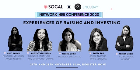 SoGal Bengaluru x Encubay presents 'Experiences of raising and investing' tickets