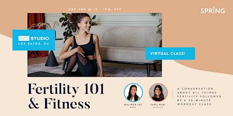 Fitness & Fertility 101 with x2o Studio tickets