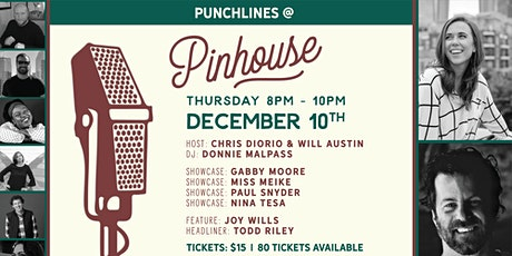 Punchlines @ Pinhouse tickets