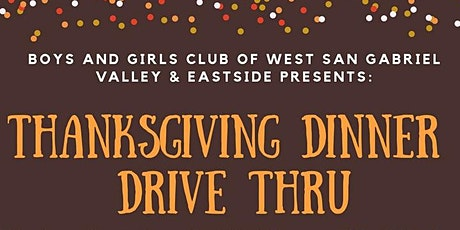 Thanksgiving Dinner Drive Thru tickets