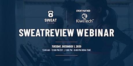 SweatReview Webinar tickets