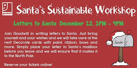 Santa's Sustainable Workshop tickets
