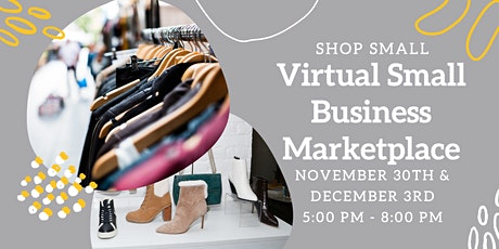 Virtual Small Business Marketplace tickets