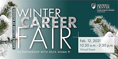 Daniels College of Business Winter Career Fair 2021 tickets