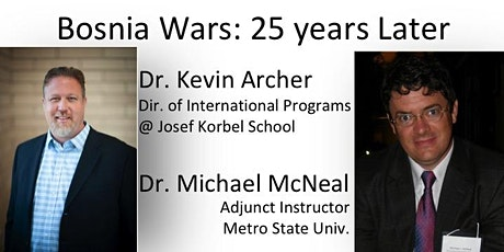 DCFR Online Event: BOSNIA WARS: 25 YEARS LATER tickets