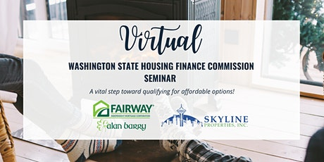 *Virtual* Washington State Housing Finance Commission Seminar! tickets