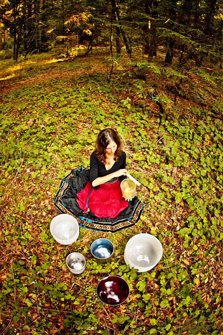 Full Moon Sound Healing and Journaling image