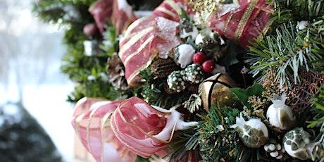 Online Wreath Making Class tickets