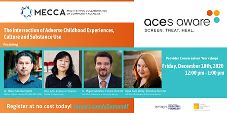 The Intersection of ACEs, Culture and Substance Use tickets