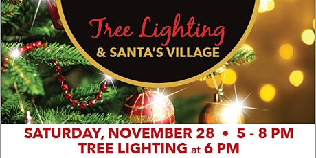 GCTC Holiday Tree Lighting & Stroll Through Santa's Village tickets