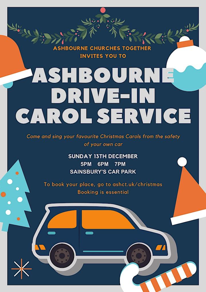 Ashbourne Drive-in Carol Service image
