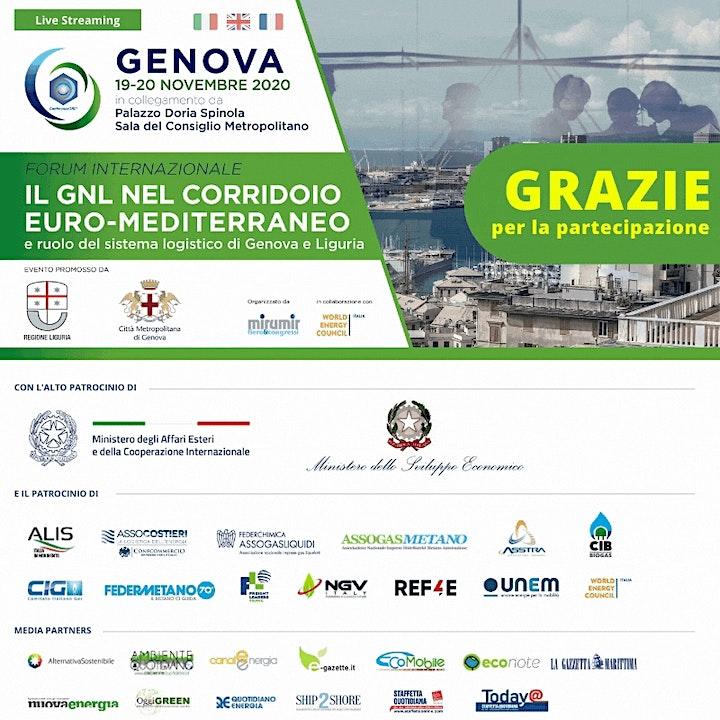 Immagine IL GNL NEL CORRIDOIO EURO-MEDITERRANEO | 19/20 Nov. | Evento Online