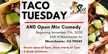 Taco Tuesday Open Mic Comedy tickets